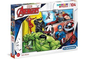 لعبة تطبيقات 104 قطعة CLEMENTONI - Puzzle Avengers