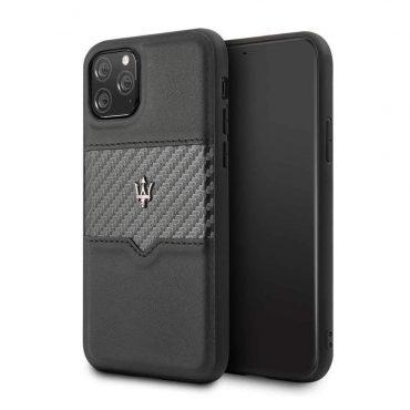 كفر iPhone 11 Pro Max من Maserati - أسود