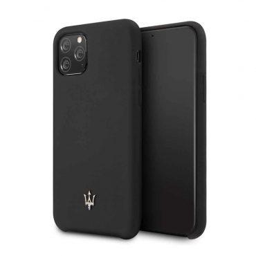 كفر  iPhone 11 Pro من Maserati - أسود