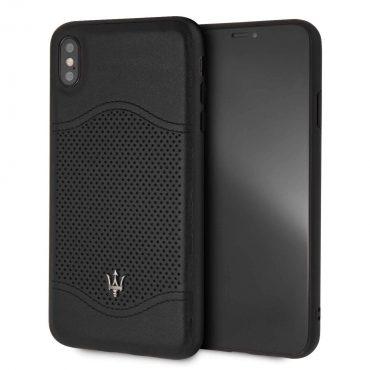 كفر iPhone Xs Max من Maserati - أسود