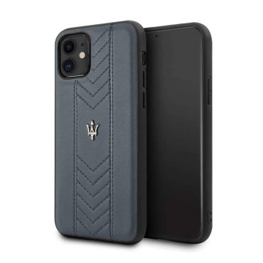 كفر iPhone 11  من Maserati - كحلي