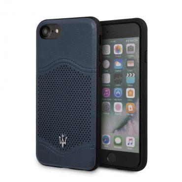 كفر جلدي iPhone 8 / 7 Maserati - كحلي