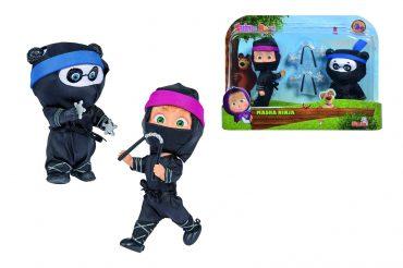 لعبة دمية ماشا والباندا SIMBA - Masha Ninja