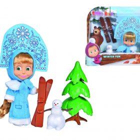 لعبة ماشا ورجل الثلج SIMBA - Masha Winter Fun