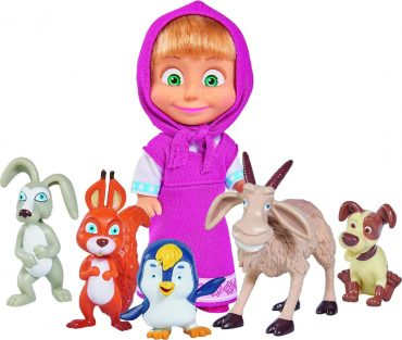 لعبة ماشا وأصدقائها الحيوانات SIMBA - Masha and her Animal Friends