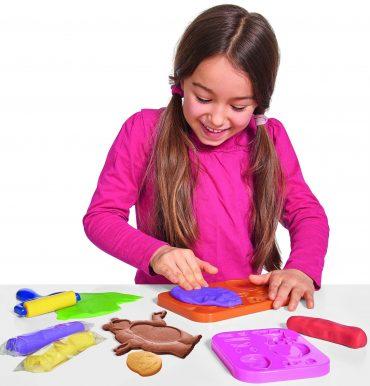 لعبة تشكيل عجينة الأطفال SIMBA - Masha Dough Set