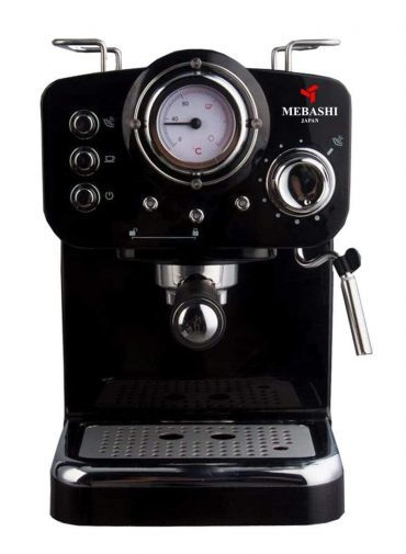 ماكينة قهوة MEBASHI - ESPRESSO COFFEE MACHINE-ME-ECM2009 - أسود