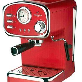 ماكينة قهوة MEBASHI - ESPRESSO COFFEE MACHINE-ME-ECM2010 - أحمر