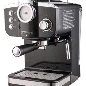 ماكينة قهوة MEBASHI - ESPRESSO COFFEE MACHINE-ME-ECM2015 - أسود