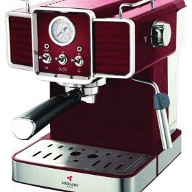 ماكينة قهوة MEBASHI - ESPRESSO COFFEE MACHINE-ME-ECM2020 - أحمر