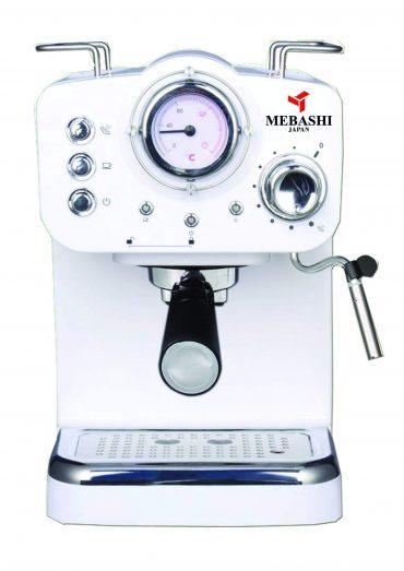 ماكينة قهوة MEBASHI - ESPRESSO COFFEE MACHINE-ME-ECM2009 - أبيض