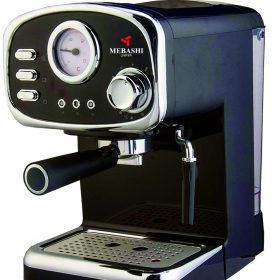 ماكينة قهوة MEBASHI - ESPRESSO COFFEE MACHINE-ME-ECM2010 - أسود
