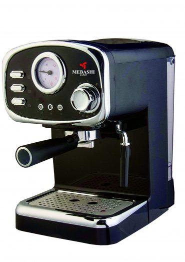 ماكينة قهوة MEBASHI - ESPRESSO COFFEE MACHINE-ME-ECM2010 - أسود