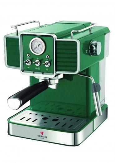 ماكينة قهوة MEBASHI - ESPRESSO COFFEE MACHINE-ME-ECM2020 - أخضر