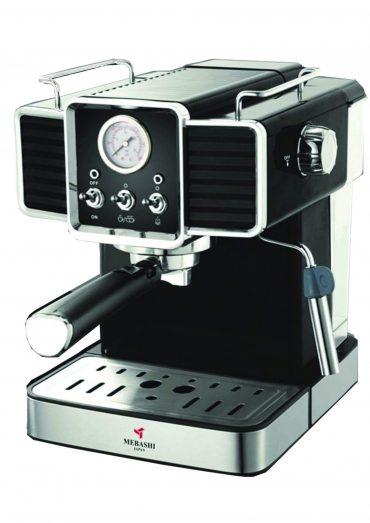 ماكينة قهوة MEBASHI - ESPRESSO COFFEE MACHINE-ME-ECM2020 - أسود