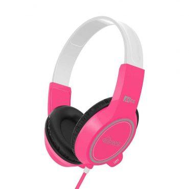 MEE audio KidJamz 3 Child Safe Headphones for Kids with Volume-Limiting Technology - Pink_x000D_
