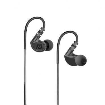 MEE audio M6 Memory Wire In-Ear Sports Headphones - Black_x000D_