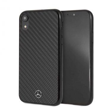 كفر كربون iPhone Xr Mercedes-Benz - أسود