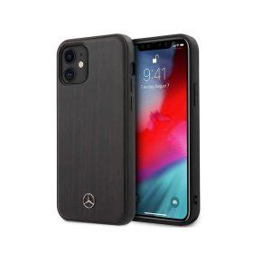 "كفر Mercedes-Benz Wood Case for iPhone 12 Mini (5.4"") - Rosewood Brown"