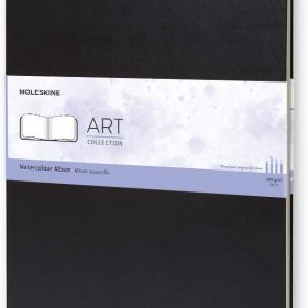 دفتر رسم Moleskine - Art Collection Watercolor Notebook - 60 صفحة / أسود