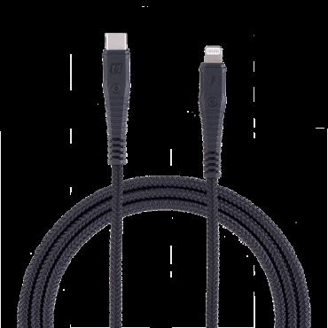 كابل TYPE-C TO LIGHTNING CABLE DURABLE CABLE 1.2M MOMAX - أسود