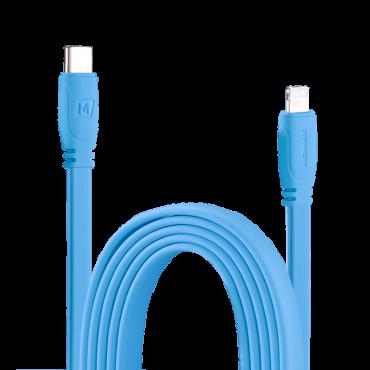 كابل GO LINK USB-C TO LIGHTNING CABLE 1.2M MOMAX - أزرق