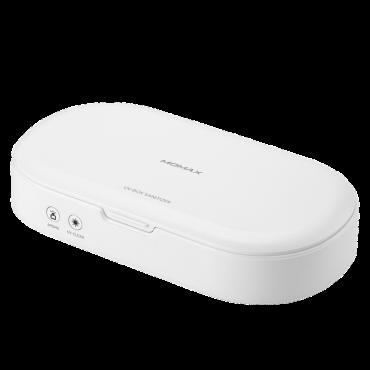 صندوق تعقيم UV BOX SANITIZER MOMAX - أبيض