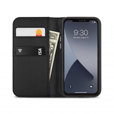 كفر Moshi - OVERTURE Apple iPhone 12 Mini Case - أسود