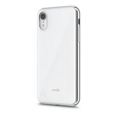 كفر iPhone XR من MOSHI - أبيض لؤلؤي