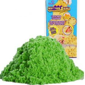 لعبة صلصال الرمل السحري Refill Pack 800g   Motion Sand  - أخضر
