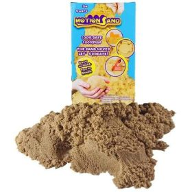 لعبة صلصال الرمل السحري Refill Pack 800g   Motion Sand  - لون طبيعي