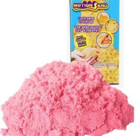 لعبة صلصال الرمل السحري Refill Pack 800g   Motion Sand  - وردي