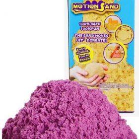 لعبة صلصال الرمل السحري Refill Pack 800g   Motion Sand  - بنفسجي