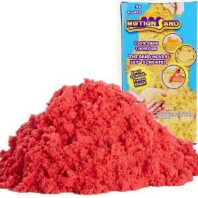 لعبة صلصال الرمل السحري Refill Pack 800g   Motion Sand  - أحمر
