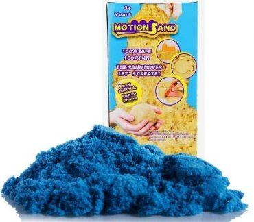 لعبة صلصال الرمل السحري Refill Pack 800g   Motion Sand  - أزرق