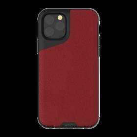 كفر جلدي MOUS -  iPhone 11 Pro Max - أحمر