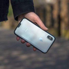 كفر شفاف MOUS - iPhone XS Max