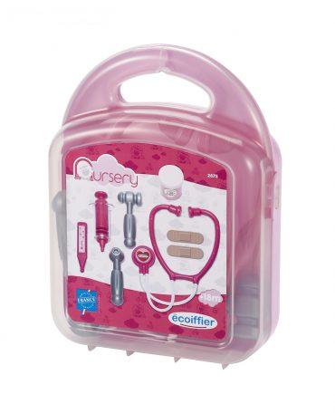 لعبة صندوق الطبيب مع 8 ملحقات ECOIFFIER - Nursery Pediatrics Case