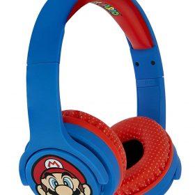 سماعات رأس لاسلكية OTL Super Mario OnEar Wireless Kids HeadPhone - سوبر ماريو