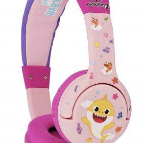 سماعات رأس سلكية OTL Baby Shark OnEar Wired Headphone  - وردي