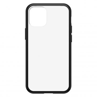 كفر OtterBox - Apple iPhone 12 Mini React Clear case - شفاف  إطار أسود
