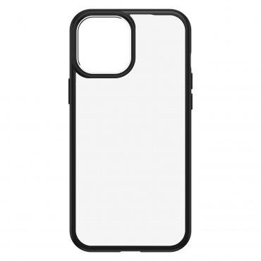 كفر OtterBox - Apple iPhone 12 Pro Max React Clear case - شفاف  إطار أسود