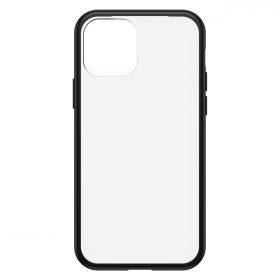 كفر OtterBox - Apple iPhone 12 Pro React Clear case - شفاف  إطار أسود