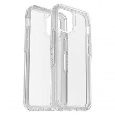 كفر وشاشة حماية OtterBox - Apple iPhone 12 Mini SYMMETRY Clear case + Screen Protector - شفاف