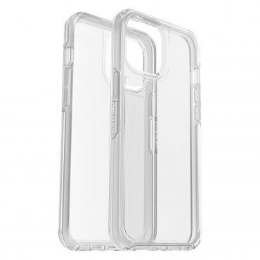 كفر وشاشة حماية OtterBox - Apple iPhone 12 Pro Max SYMMETRY Clear case + Screen Protector - شفاف