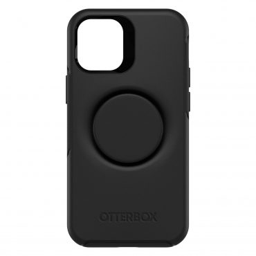 كفر OtterBox - OTTER+POP SYMMETRY Apple iPhone 12 Mini case - أسود