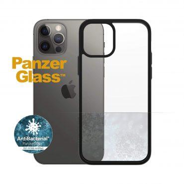 كفر PanzerGlass - iPhone 12 Pro ClearCase - شفاف / إطار أسود