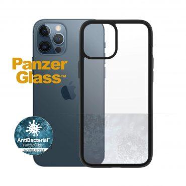 كفر PanzerGlass - iPhone 12 Pro Max ClearCase - شفاف / إطار أسود