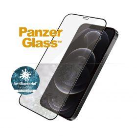 شاشة حماية PanzerGlass - iPhone 12 Pro Screen Protector - إطار أسود