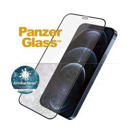شاشة حماية PanzerGlass - iPhone 12 Pro Max Screen Protector - إطار أسود